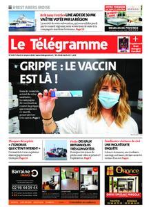 Le Télégramme Brest Abers Iroise – 13 octobre 2020