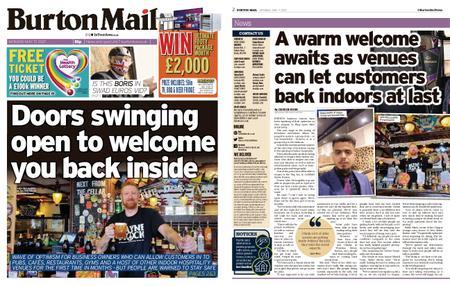 Burton Mail – May 17, 2021