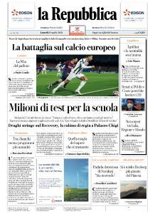 la Repubblica - 19 Aprile 2021