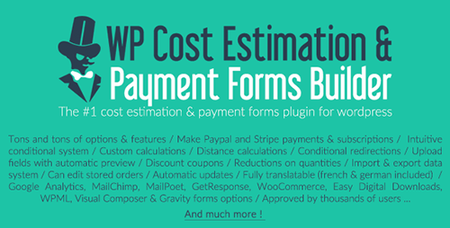 CodeCanyon - WP Cost Estimation & Payment Forms Builder v9.591 - 7818230 - NULLED