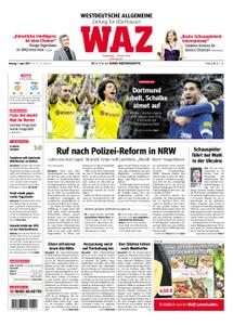 WAZ Westdeutsche Allgemeine Zeitung Oberhausen-Sterkrade - 01. April 2019