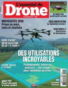 L'essentiel du Drone - Octobre-Décembre 2019
