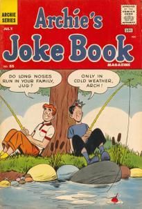 Archies Joke Book Magazine 055 1961