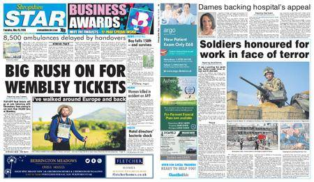 Shropshire Star Shrewsbury Edition – May 15, 2018