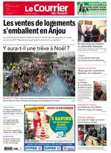 Le Courrier de l'Ouest Nord Anjou – 19 décembre 2019