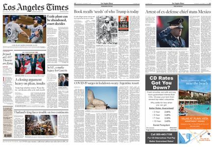 Los Angeles Times – October 17, 2020