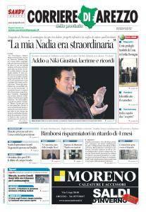 Corriere di Arezzo - 5 Gennaio 2017