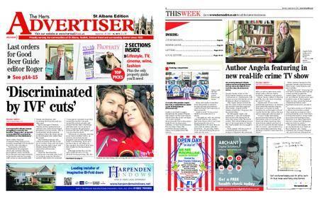 The Herts Advertiser – September 14, 2017