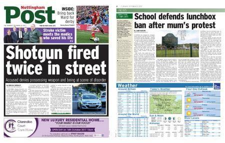 Nottingham Post – October 10, 2017