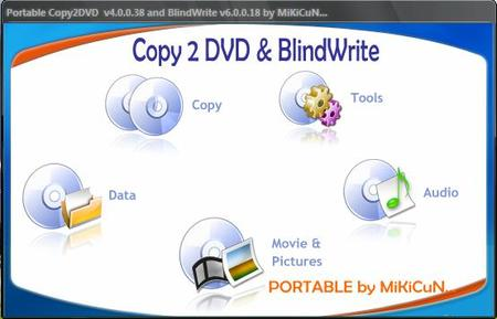 Portable VSO CopyToDVD v4.0.0.38 & BlindWrite v6.0.0.18