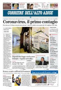 Corriere dell'Alto Adige – 25 febbraio 2020