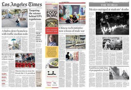 Los Angeles Times – April 25, 2018
