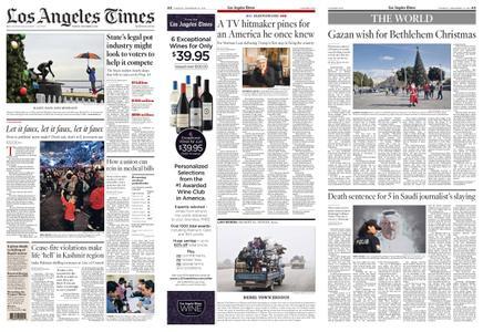 Los Angeles Times – December 24, 2019