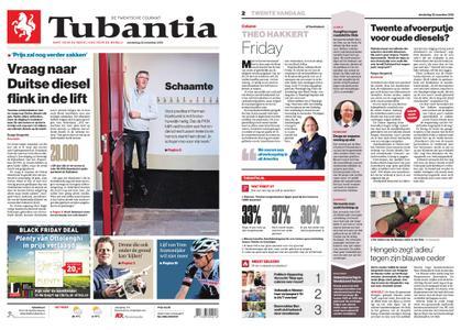 Tubantia - Enschede – 22 november 2018