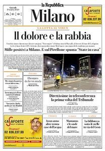 la Repubblica Milano - 19 Marzo 2020