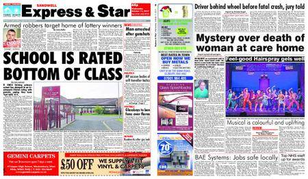 Express and Star Sandwell Edition – October 11, 2017