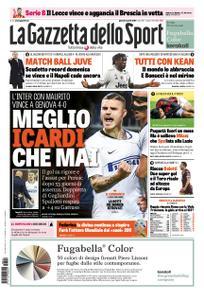 La Gazzetta dello Sport – 04 aprile 2019
