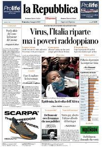 la Repubblica - 3 Maggio 2020