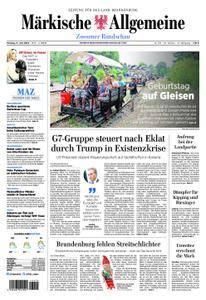 Märkische Allgemeine Zossener Rundschau - 11. Juni 2018