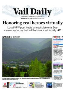 Vail Daily – May 25, 2020