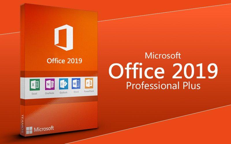 Microsoft Office Professional Plus 2019 - 1907 (Build 11901.20218) Multilingual