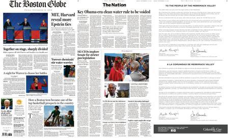 The Boston Globe – September 13, 2019