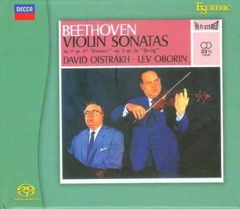 David Oistrakh, Lev Oborin - Beethoven. Violin Sonatas 5 & 9 (1962) [Japan 2015] PS3 ISO + Hi-Res FLAC