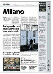 la Repubblica Milano - 23 Febbraio 2018