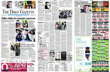 The Daily Gazette – May 21, 2018