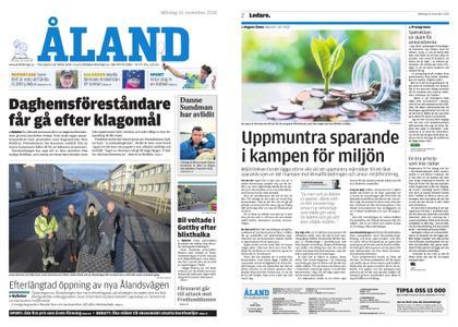 Ålandstidningen – 26 november 2018