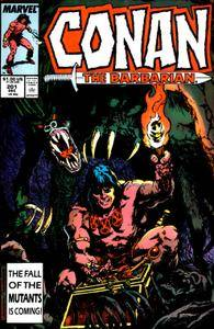 Conan the Barbarian v1 201 1987-12