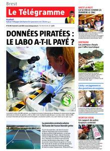 Le Télégramme Brest Abers Iroise – 02 août 2019