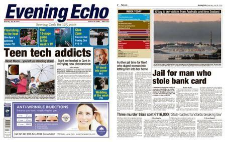 Evening Echo – July 28, 2018