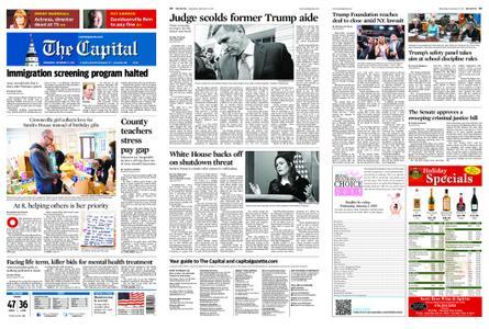 The Capital – December 19, 2018