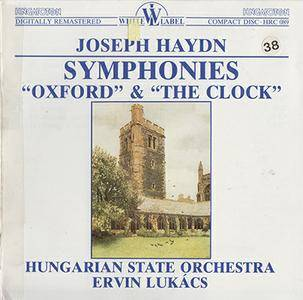 Haydn - Hungarian SO / Lucacs - Symphonies Oxford & The Clock (1988, Hungaroton # HRC 089) [Japan Press]