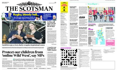 The Scotsman – March 18, 2019