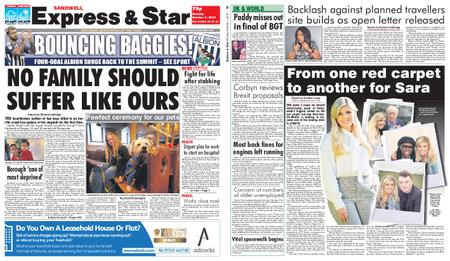 Express and Star Sandwell Edition – October 07, 2019