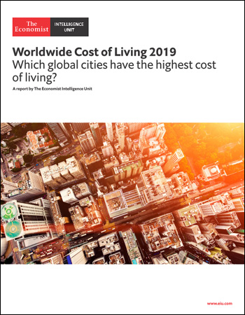 The Economist (Intelligence Unit) - Worldwide Cost of Living (2019