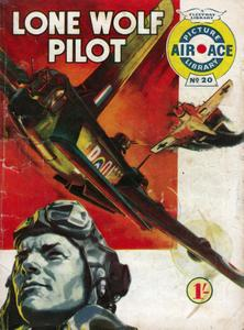 Air Ace Picture Library 020 - Lone Wolf Pilot [1960]