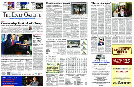 The Daily Gazette – April 18, 2020