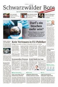 Schwarzwälder Bote Hechingen - 21. Mai 2019