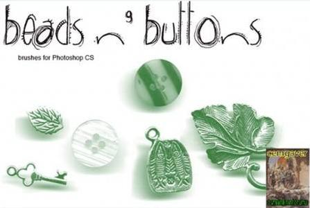 Beads and Buttons Brushes