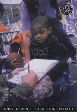 Underground Productions Graffiti Magazine Issue 19