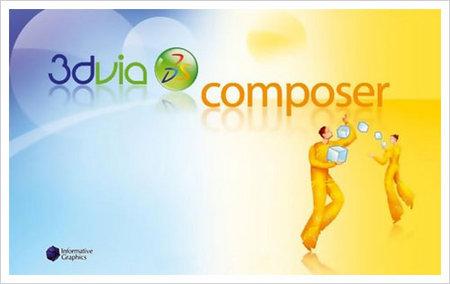 3Dvia Composer V6.5.0.1434 Win32/64
