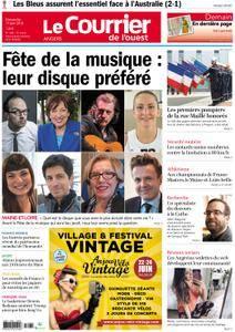 Le Courrier de l'Ouest Angers - 17 juin 2018