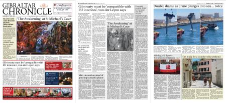 Gibraltar Chronicle – 03 July 2021