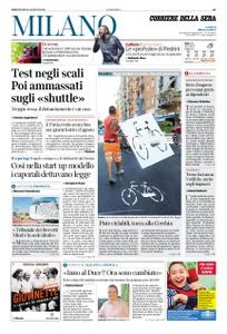 Corriere della Sera Milano – 26 agosto 2020