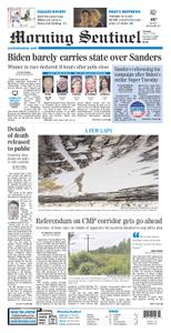 Morning Sentinel – March 05, 2020