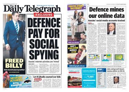 The Daily Telegraph (Sydney) – September 26, 2018