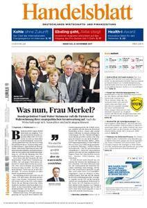 Handelsblatt - 21. November 2017